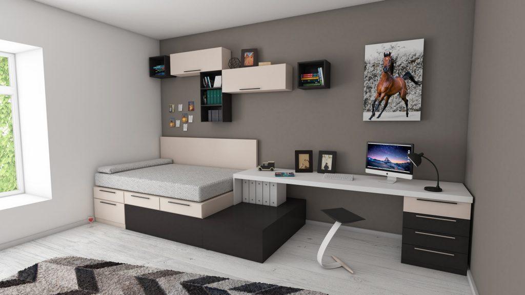 IdeaTuMueble -Dormitorio Escritorio